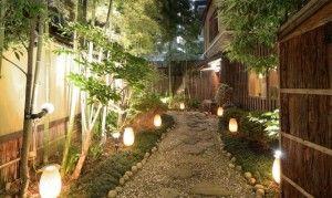 iluminacion jardines pequeños